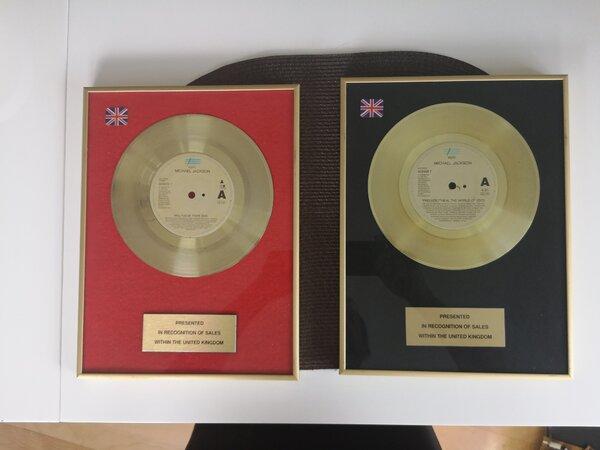 Michael Jackson Gold Vinyl